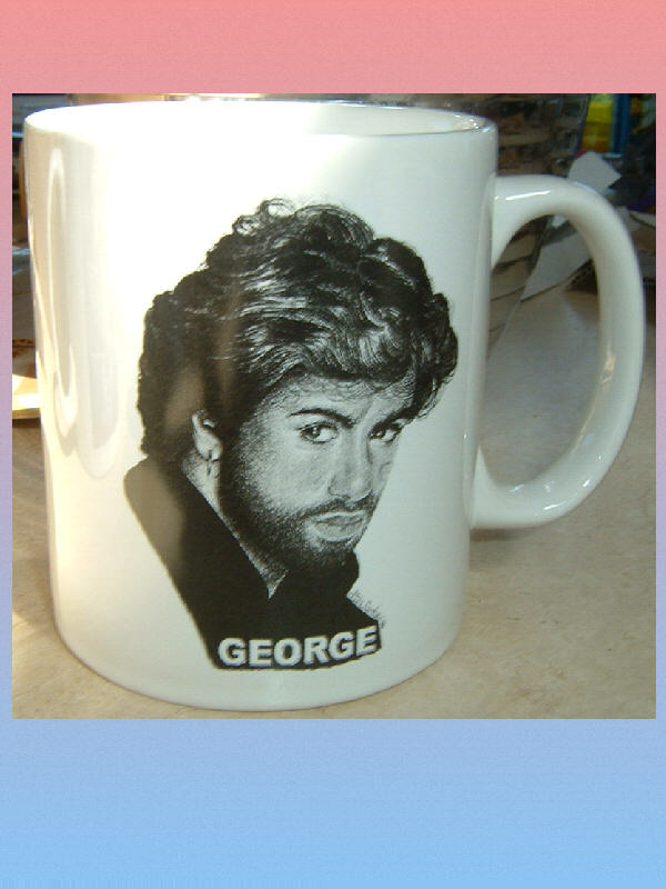 GEORGE MICHAEL CERAMIC MUG