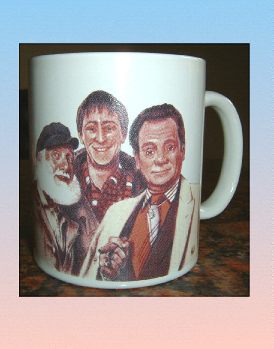 ONLY FOOLS AND HORSES The Trotters COLOUR MUG
