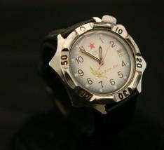 Vintage serviced USSR Vostok  cal2414 Generalskie 17JSoviet military wristwatch - $108.90