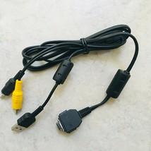 Cyber-shot Digital Cameras DSC-W5 USB AV Cable VMC-MD1 -Compatible Models below - $29.65