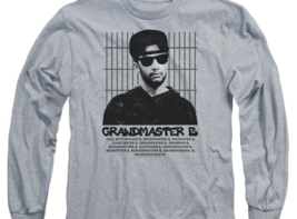 Married with Children Bud Bundy Grandmaster B. retro 80's long sleeve SONYT131 image 3
