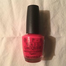 NOS New OPI Nail Polish 15 ml Bottle Tropical Punch NL L22 - $19.34