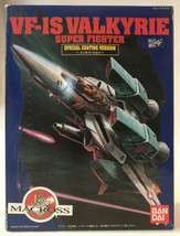 New VF-IS Valkyrie Super Fighter Bandai Model Japan Japanese Macross Special Ani - $33.24