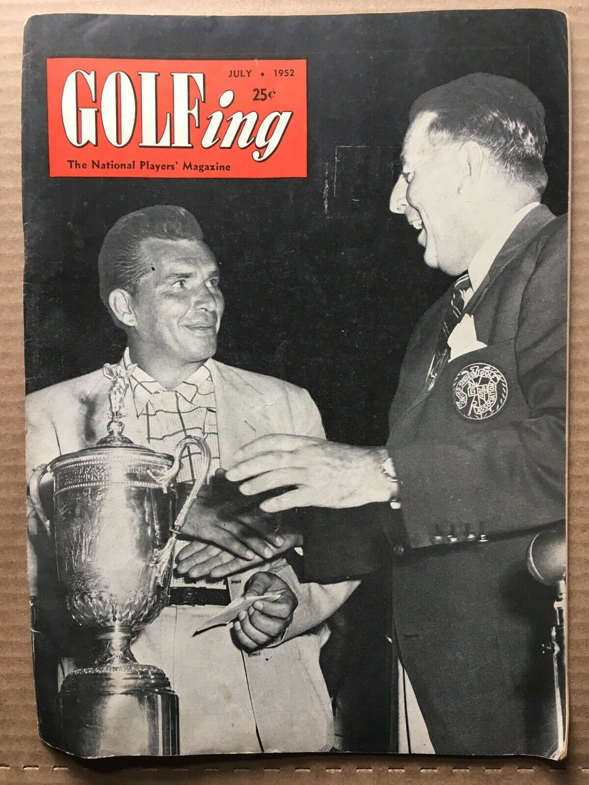 Primary image for GOLFING VINTAGE Magazine #5 Volume 16 July 1952 VG- CONDITION HD1 JULIUS BOROS
