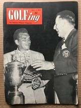 GOLFING VINTAGE Magazine #5 Volume 16 July 1952 VG- CONDITION HD1 JULIUS... - £13.33 GBP