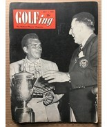 GOLFING VINTAGE Magazine #5 Volume 16 July 1952 VG- CONDITION HD1 JULIUS... - $16.99