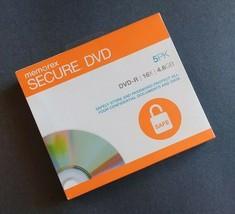 NEW Memorex Secure Blank DVD-R 5-Pack 16X 4.6GB Computer Password Tax Da... - $10.95