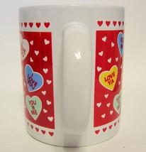 Mug Valentine Candy Hearts Novelty Mug Hallmark Cards, Inc. Drinkware 10... - $17.10