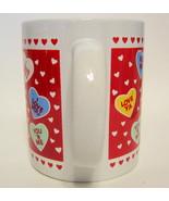 Mug Valentine Candy Hearts Novelty Mug Hallmark... - $19.00