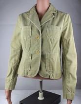 Vintage Tommy women's corduroy jacket blazer camel buttons size S/P 2006 - $17.53