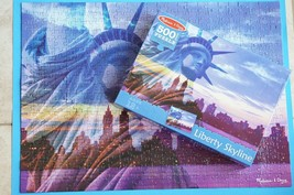 Melissa & Doug 500-Piece Statue of Liberty New York City Skyline Jigsaw Puzzle - $8.33