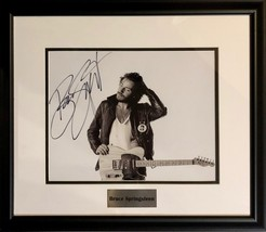 BRUCE SPRINGSTEEN FRAMED AUTOGRAPHED SIGNED 11X14 PHOTO The E Street Ban... - $649.99
