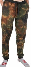 Asphalt Yacht Club Men's Sky High Green Tie Dye Sweat Jogging Pants Camo NWT