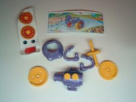 Kinder - K02 38 Funny horn + paper + sticker - surprise egg - $1.50