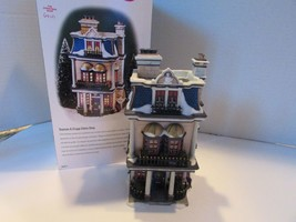 Dept 56 58314 Teaman & Cruppp China Shop Dickens Village Lighted Bldg W/CORD D18 - $34.25