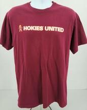 Hanes Heavy Duty Virginia Tech University Hokies United Men's Large Tee ... - $23.33