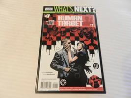 Human Target #1 June 2010 Special Edition Vertigo Comics - $7.42
