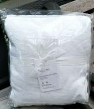 Pottery Barn BELGIAN FLAX LINEN DUVET K/CAL KING WHITE NEW W/TAG  #65 - $242.00
