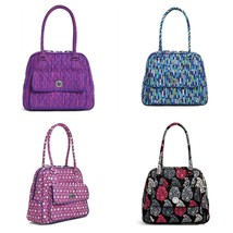 Vera Bradley Turn Lock Satchel Shoulder Bag NewWT COLOR CHOICE - $49.50