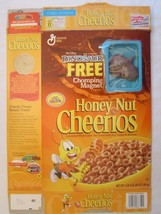 Cereal Box 2000 Honey Nut Cheerios DINOSAUR Chomping Magnet CARNOTAUR 20 oz - $28.80