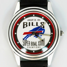 Super Bowl 1994 Authentic Bills GA Dome, New Fossil NFL Logo Watch XXX/1500 $59 - $58.26