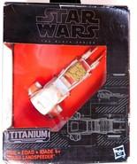 Star Wars The Black Series Titanium  JAKKU LANDSPEEDER #19  NEW in Box - $9.77