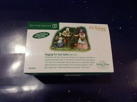 """Dept. 56 Dickens' Village All Hallow's Eve """"Begging For Soul Cakes""""  NIB - $14.03"""
