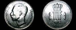 1972 Luxembourg 10 Franc World Coin - $5.99