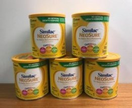 5 Pack Similac Neosure Infant Formula. Use by November, 2021.  - $59.99