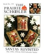 Santa's Revisited cross stitch chart Prairie Schooler  - $8.10