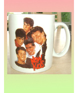 NEW KIDS ON THE BLOCK CERAMIC MUG - $9.99