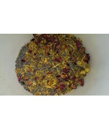 1 oz UNSCENTED FLORAL MEDLEY POTPOURRI Mix Dried Flower Natural Rose Lav... - $3.95