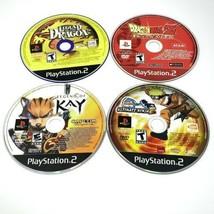 Ps2 Playstation 2 Video Game Lot 4 Game Bundle Legend Of Kay Dragonball Z - $21.99