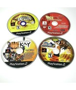 Ps2 Playstation 2 Video Game Lot 4 Game Bundle Legend Of Kay Dragonball Z - $21.99