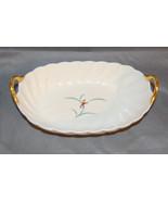Japanese Fukagawa Arita Porcelain Orchid Gilt Bowl - $25.00