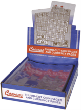 Cowens Coin Collecting supplies Pages for 2 1/2 x 2 1/2 coin Flips (Qty=... - $17.60