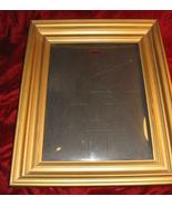 Nice Vintage Gold Wooden Picture Frame 14x16 - $15.00