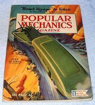 Vintage Complete Popular Mechanics July 1942 Magazine Hobby Science Engi... - $9.95