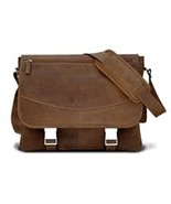 MacCase Premium Leather Large Shoulder Bag, Messenger Bags for Men, Mens... - $319.99