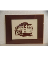 Silk Screen Print of San Francisco Cable Car by Ron Fox 1974 - $5.99