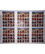 Legends of the West Press Sheet of Six Panes Mint VF NH - Stuart Katz - $55.00