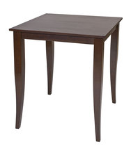 "Espresso Finish Wood  36"" H Bar Height Square Bistro Pub Dining Table - $169.99"