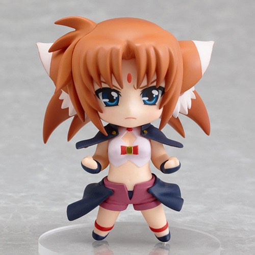Nendoroid Petite: Magical Girl Lyrical Nanoha Art Huan Form Action Figure NEW!