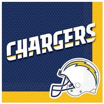 Los Angeles Chargers NFL Football Sports Banquet Party Paper Luncheon Napkins - $7.17