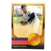 Mickey Mantle 2012 Topps Golden Greats Insert #GG-34 MLB HOF New York Ya... - $2.92