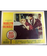 MARILYN MONROE (BUS STOP) ORIGINAL VINTAGE 1956 LOBBY CARD - $173.25