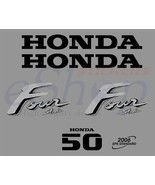 Honda outboard Four Stroke BF 50 OR 40 Hp Decals stickers set kit Autoad... - $46.00