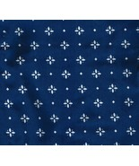 Longaberger Button Basket Liner ~ Classic Blue Fabric - $13.66