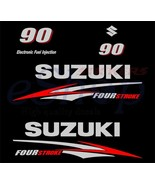 Suzuki outboard df 90 OR 70/80 Hp 4 Four Stroke full decals stickers set... - $54.00