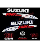 Suzuki outboard df 150 OR 175 Hp 4 Four Stroke full decals stickers set kit - $72.00